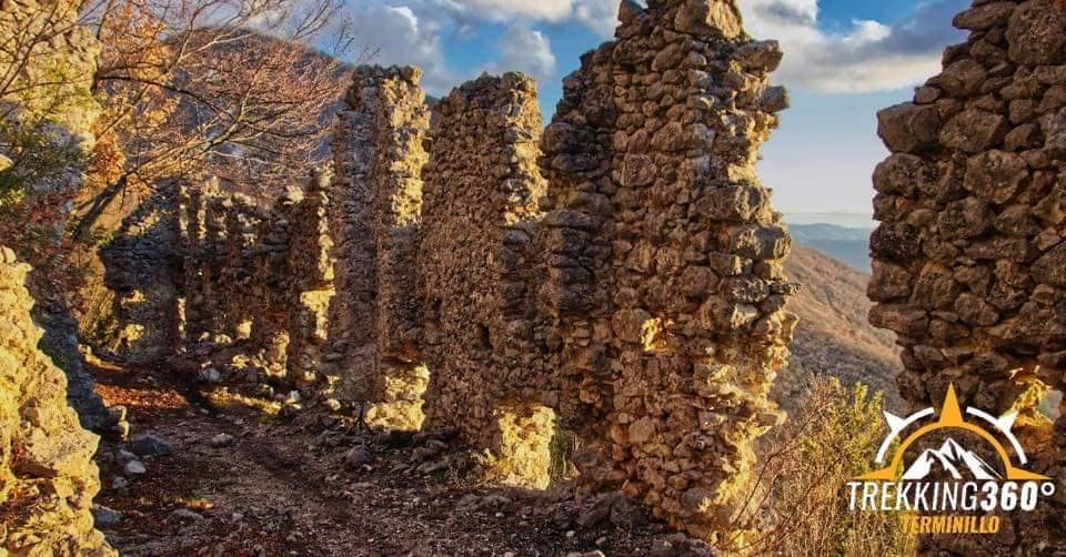 Terminillo e Lugnano con il convento di San Rocco - eventi in sabina