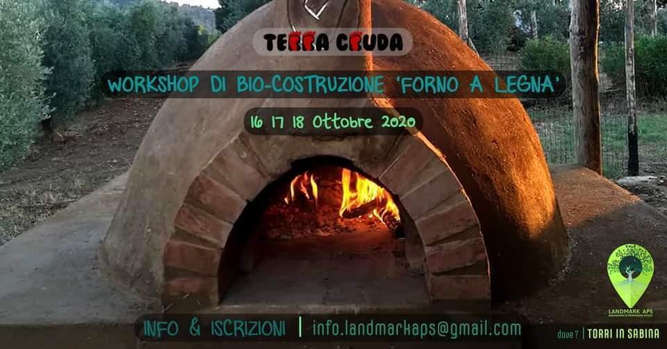Workshop sulla bio-costruzione di un forno a legna • 3 giorni - eventi in sabina