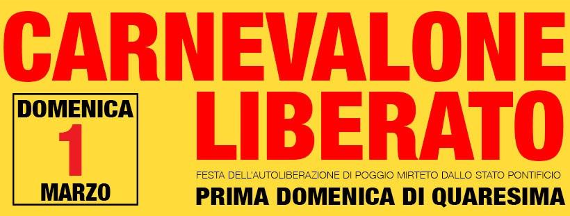 Carnevalone Liberato 2020 - eventi in sabina