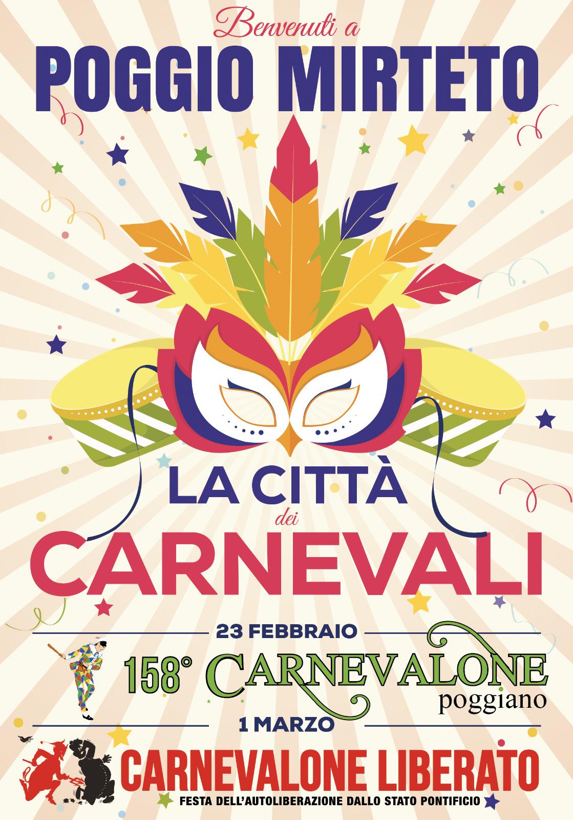 Carnevalone Poggiano – 158^ edizione - eventi in sabina