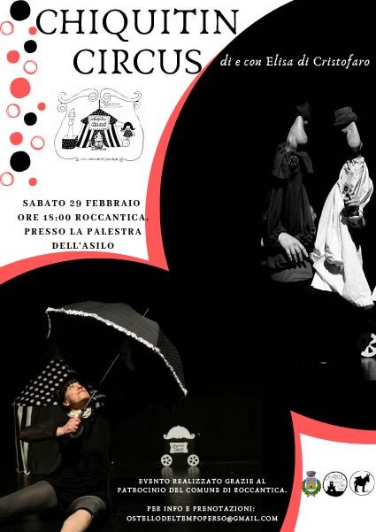 Chiquitin Circus – Spettacolo Teatrale - eventi in sabina