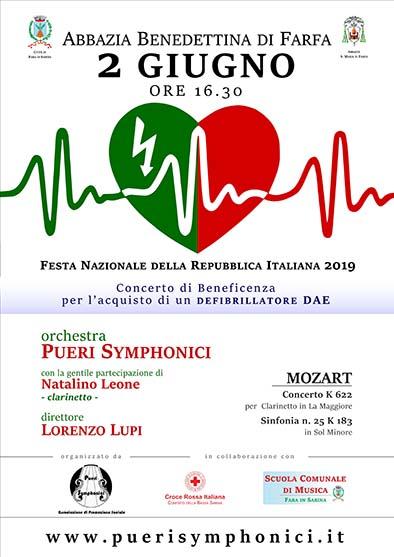Concerto per la Festa della Repubblica - eventi in sabina