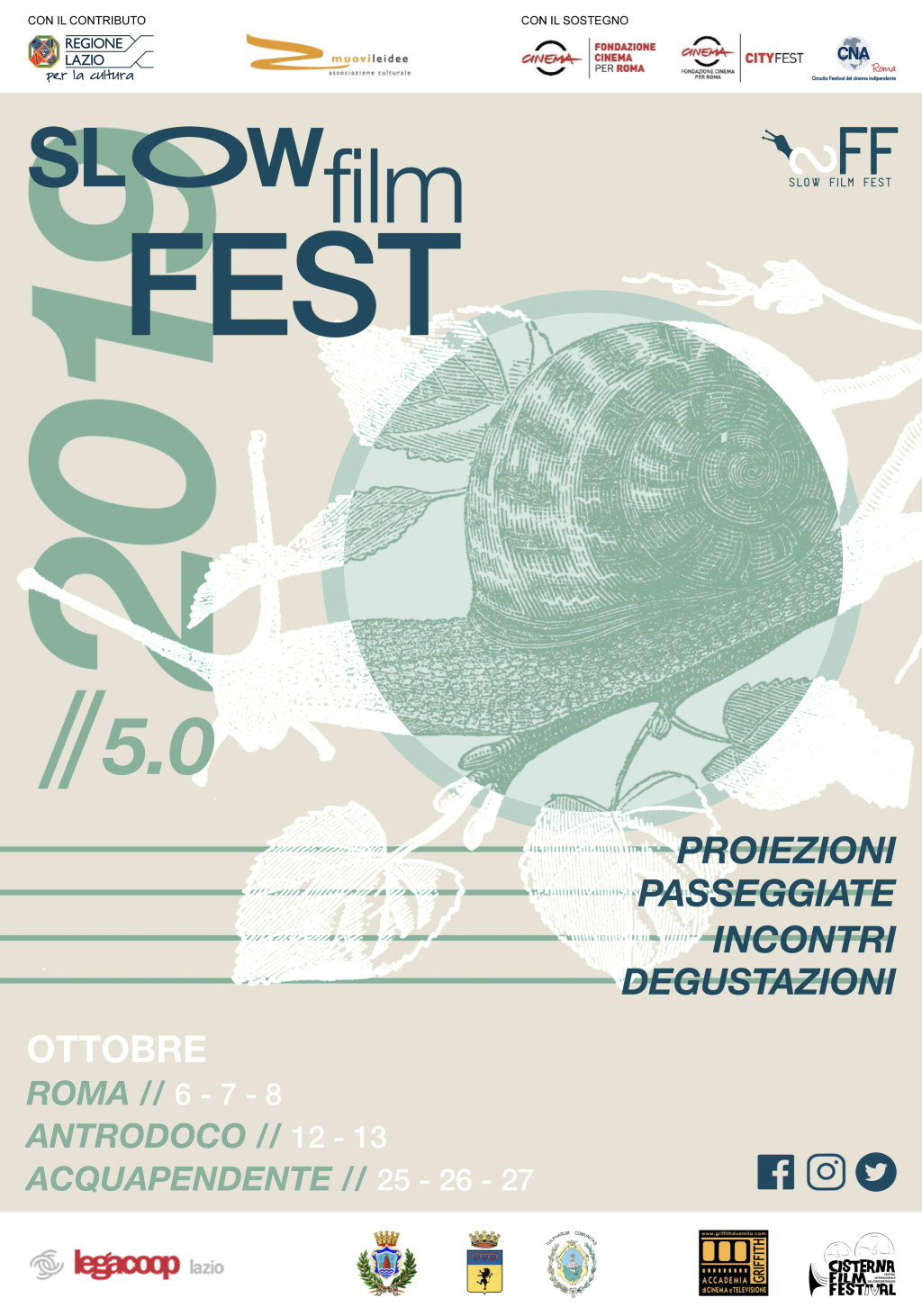 Slow Film Fest - eventi in sabina
