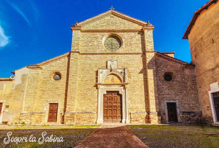 abbazia di farfa chiese lazio turismo religioso