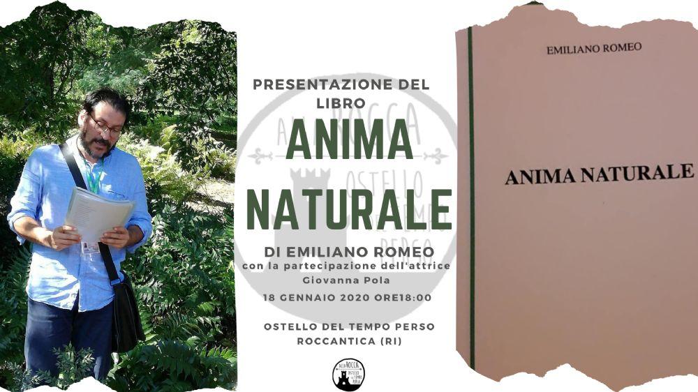 """Presentazione del libro """"Anima Naturale"""" - eventi in sabina"""