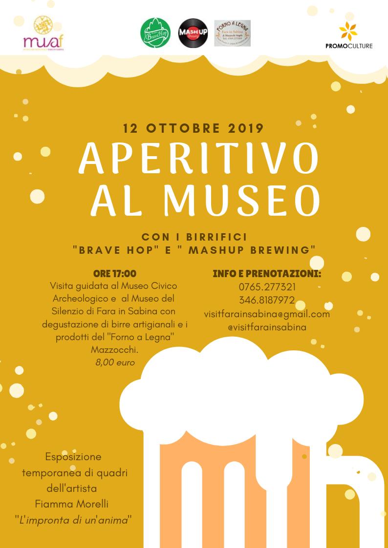 Aperitivo al museo a Fara in Sabina - eventi in sabina