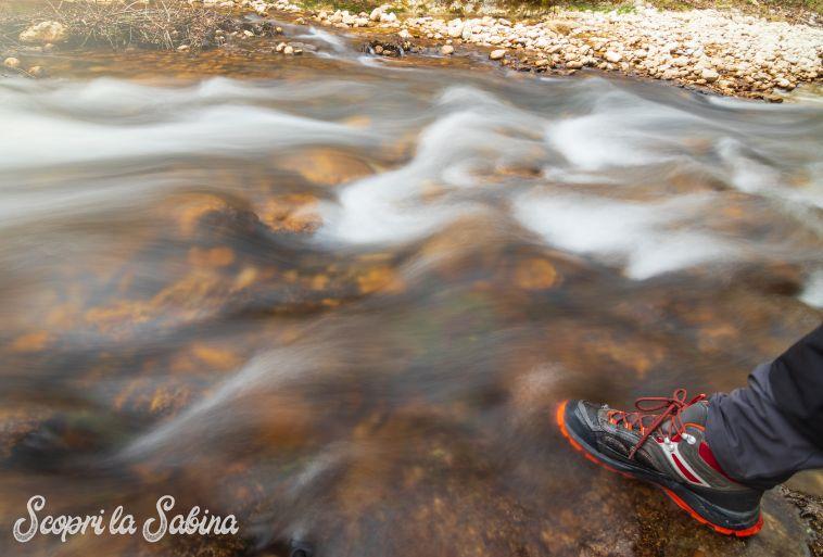 attrezzatura scarpe trekking in sabina escursioni nel lazio