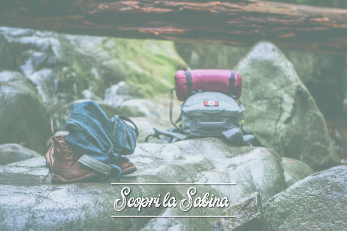 L'attrezzatura necessaria per un trekking nel Lazio e in Sabina