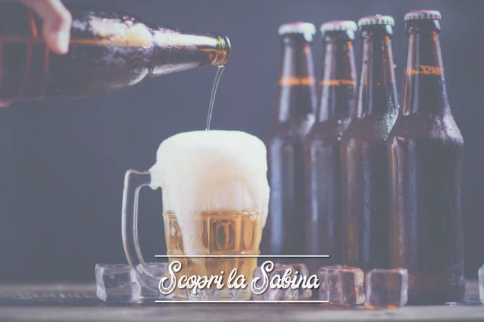 Birra artigianale della Sabina