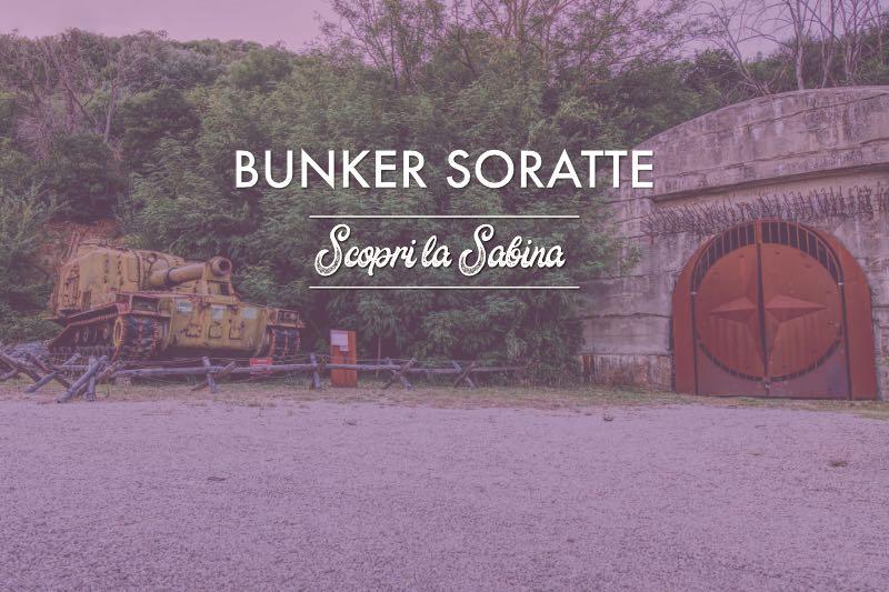 Bunker Soratte - cosa vedere in sabina