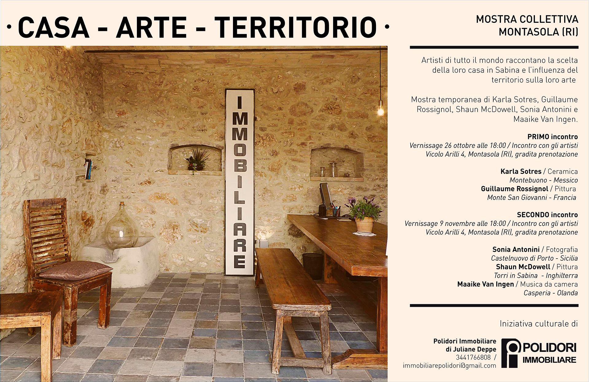 Mostra culturale Casa – Arte – Territorio - eventi in sabina