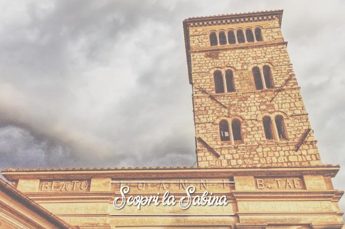 Chiesa di San Giovanni Battista - cosa vedere in sabina