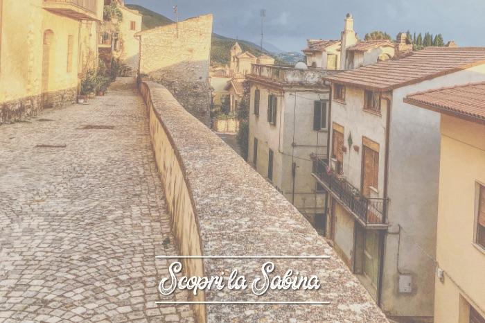 Cinta muraria del borgo di Casperia - cosa vedere in sabina