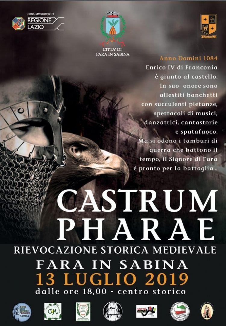 Castrum Pharae - eventi in sabina