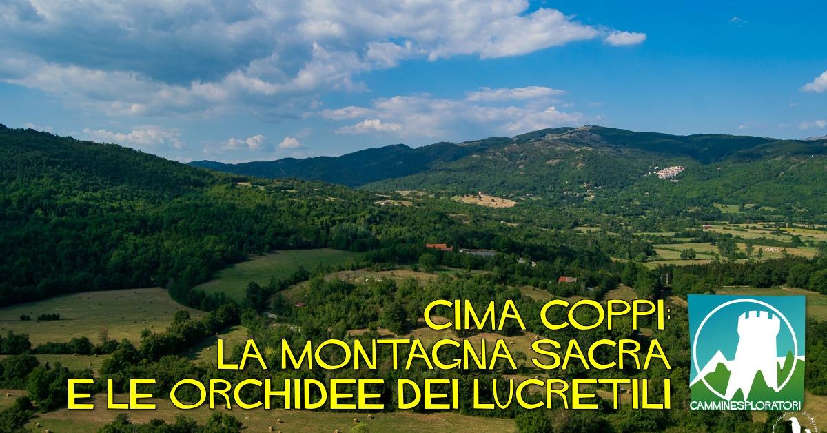 Trekking a cima Coppi: la montagna sacra e le orchidee dei Lucretili - eventi in sabina
