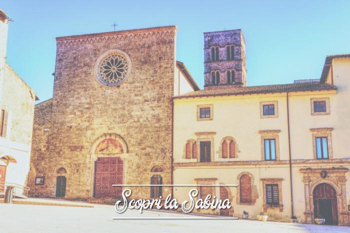 Chiesa Cattedrale Santa Maria del Popolo - cosa vedere in sabina