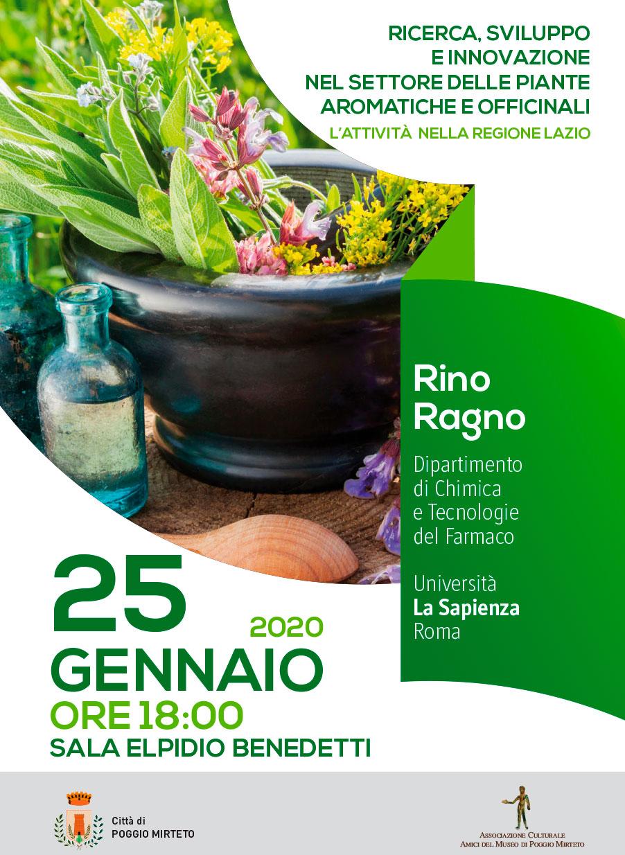 Ricerca, sviluppo e innovazione nel settore delle piante aromatiche e officinali - eventi in sabina