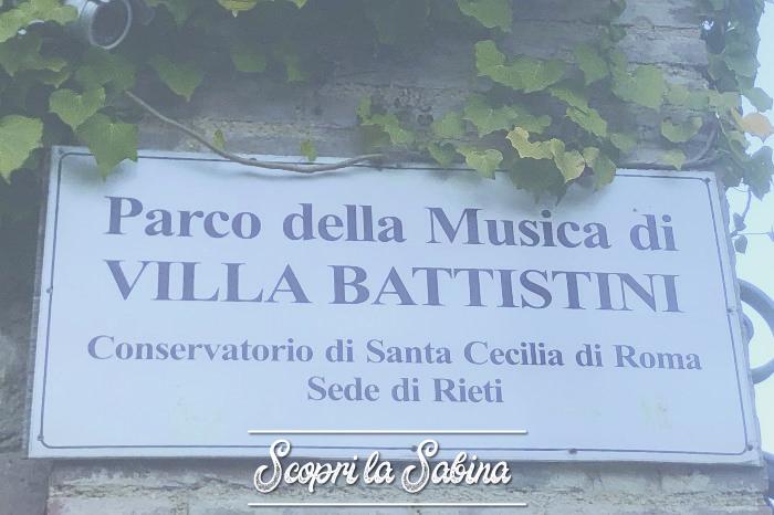 Villa Battistini e il Parco della Musica