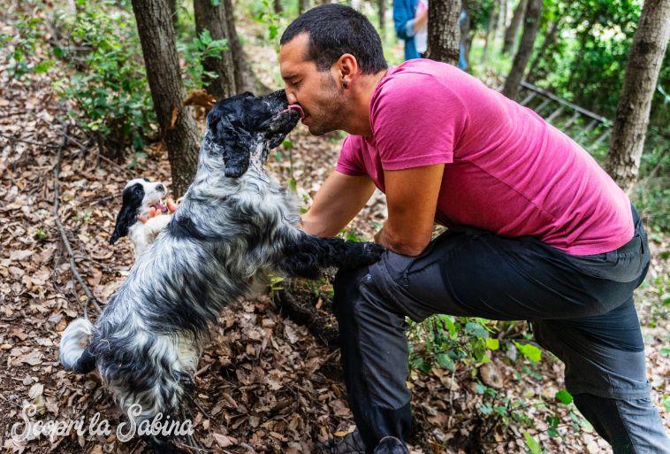 Corso di addestramento per cani tartufo nel Lazio