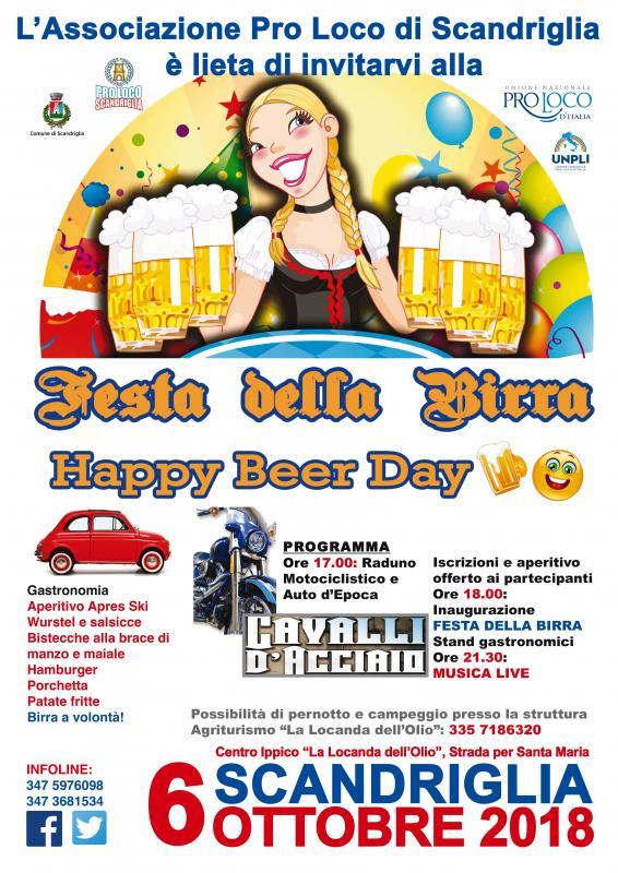 Festa della Birra – Happy Beer Day - eventi in sabina