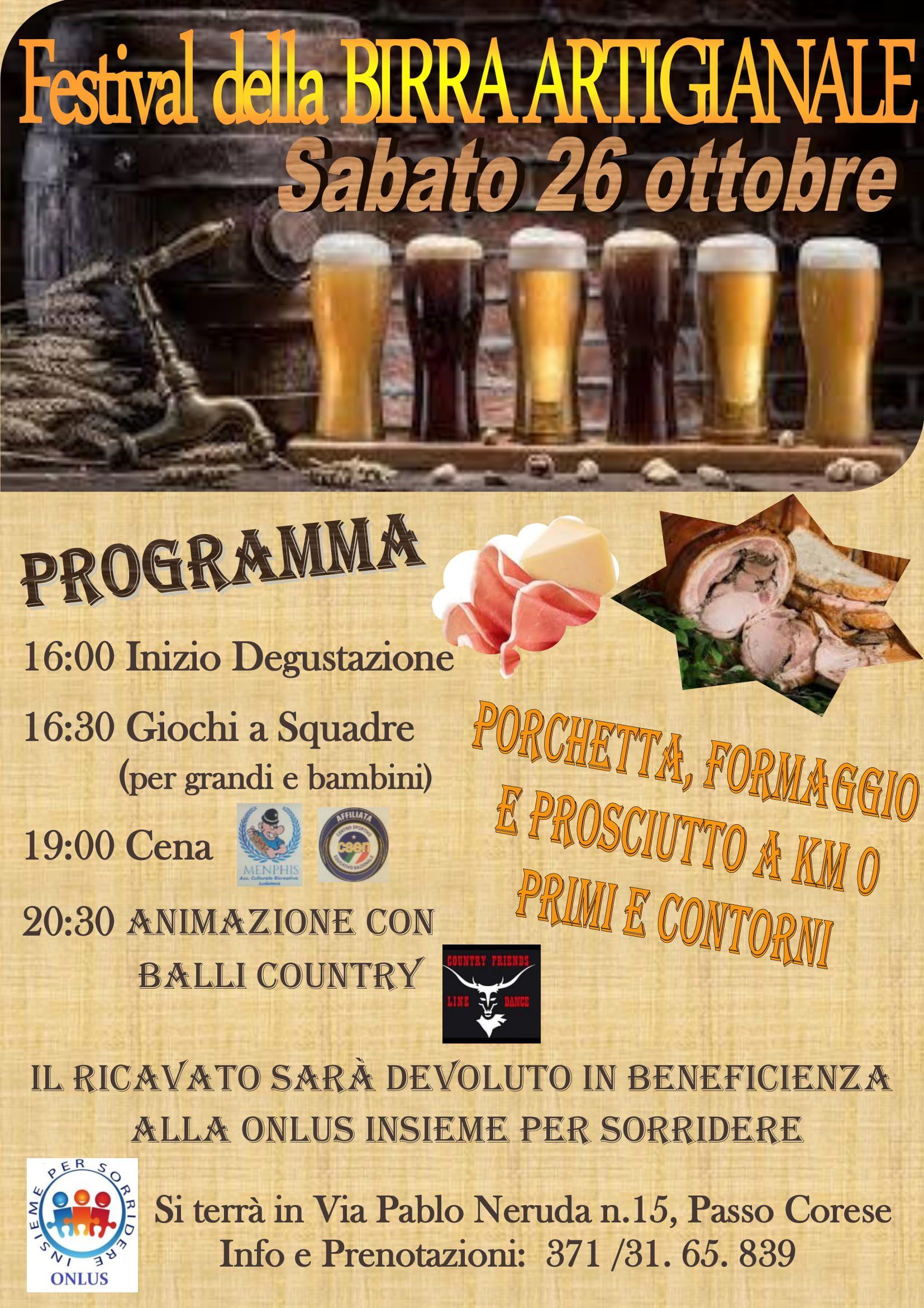 Festival della Birra Artigianale - eventi in sabina
