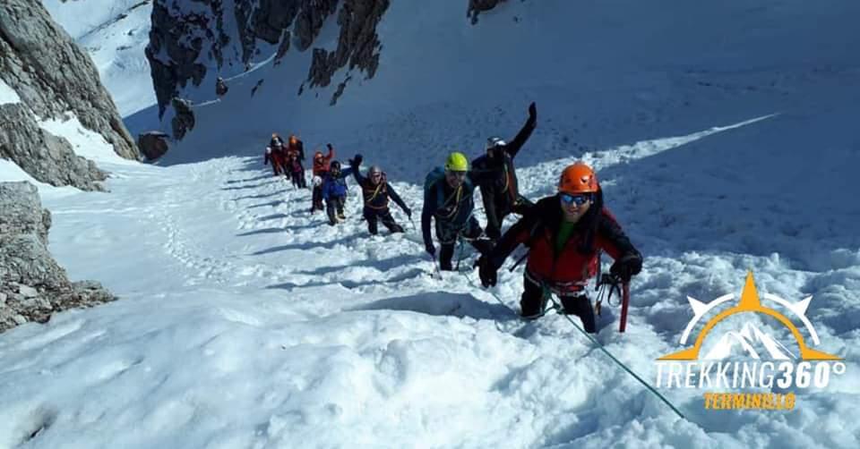 Giornata ramponi e piccozza con guida alpina al Terminillo - eventi in sabina