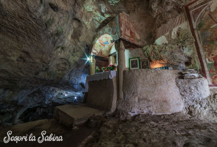 Grotta di San Michele Arcangelo al Tancia in Sabina