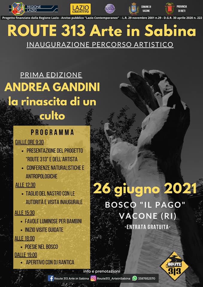La rinascita di un culto – Inaugurazione del percorso artistico di Andrea Gandini - eventi in sabina