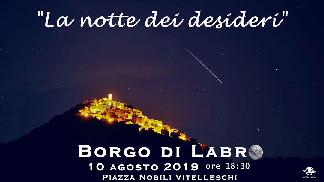 Luci e stelle fra i cieli più belli d'Italia - eventi in sabina