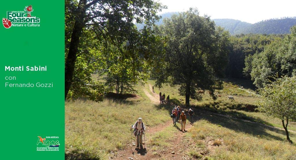 Monti Sabini – Antiche vie di pellegrinaggio - eventi in sabina