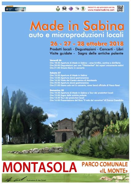 Made in Sabina….auto e micro-produzioni locali - eventi in sabina