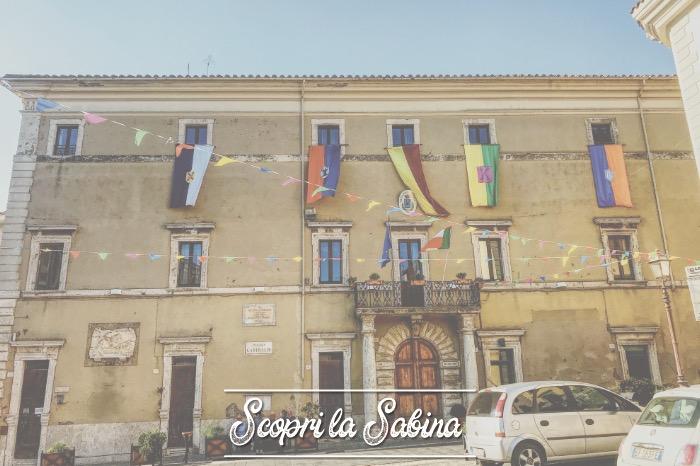 Palazzo Vannicelli (sede del Municipio) - cosa vedere in sabina