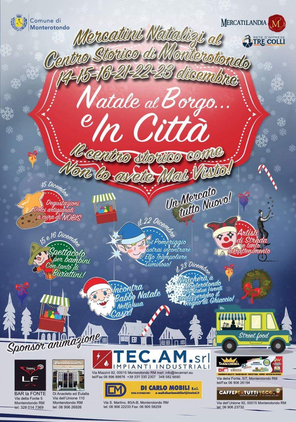 Natale al Borgo… e in Città! - eventi in sabina