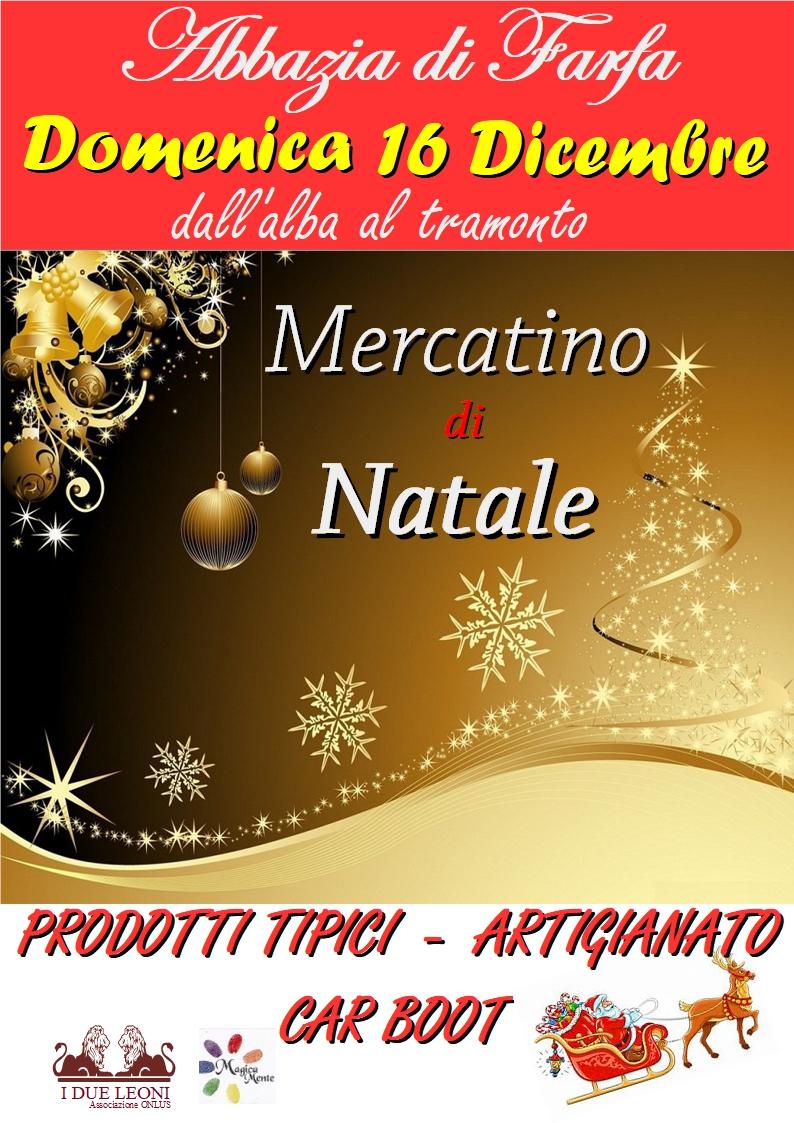 Mercatino di Natale all'Abbazia di Farfa - eventi in sabina