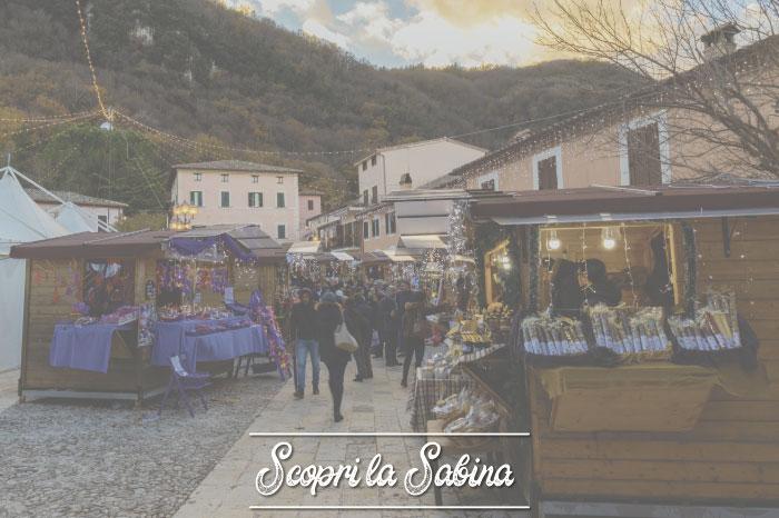 Mercatini di Natale in Sabina e nel Lazio
