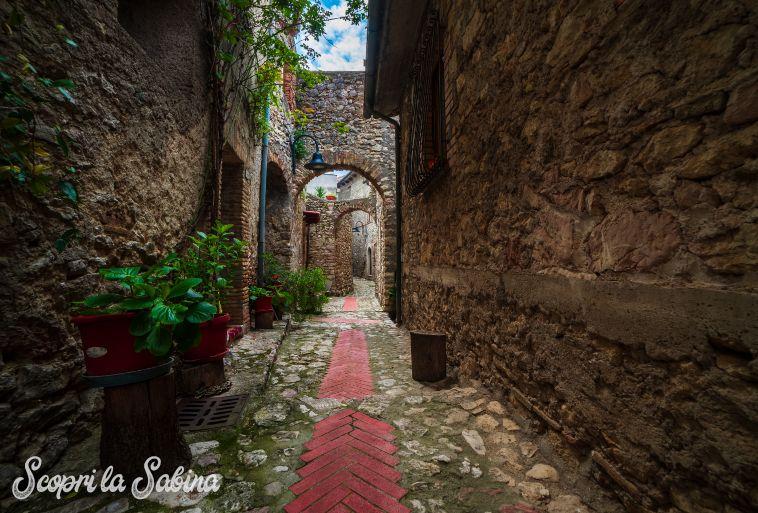 Montasola borgo storico del lazio e della sabina