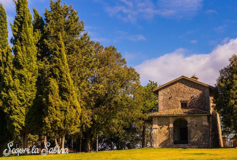 Parco il Monte a Montasola borgo storico del lazio