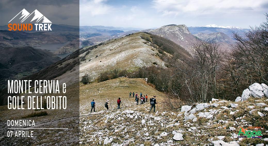Trekking al Monte Cervia e Gole dell'Obito - eventi in sabina