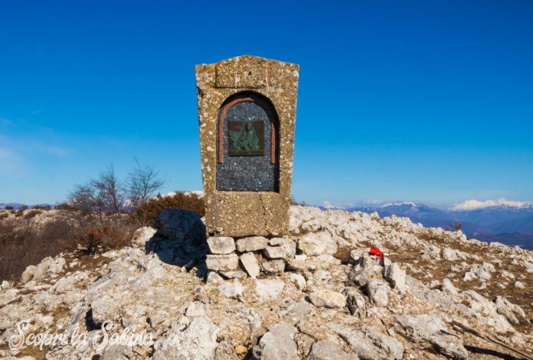 La vetta del Monte Pizzuto