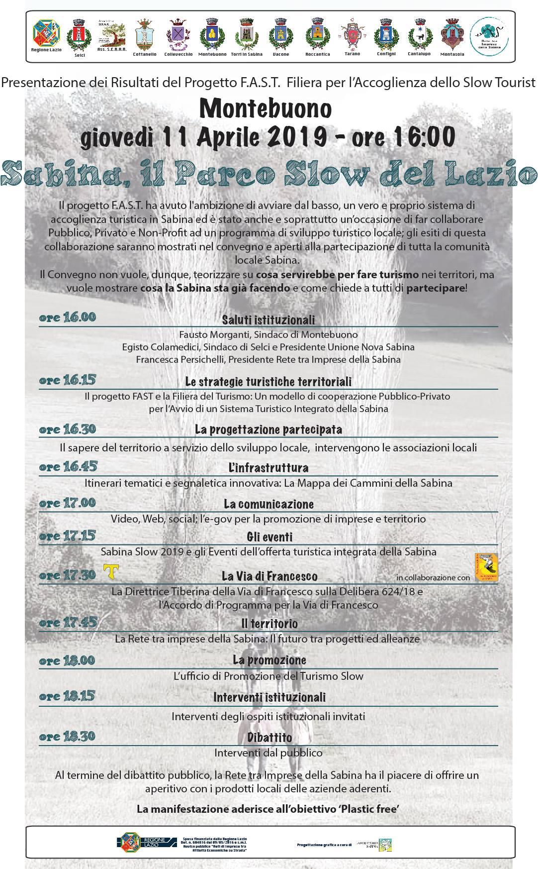 Sabina, il Parco Slow del Lazio - eventi in sabina