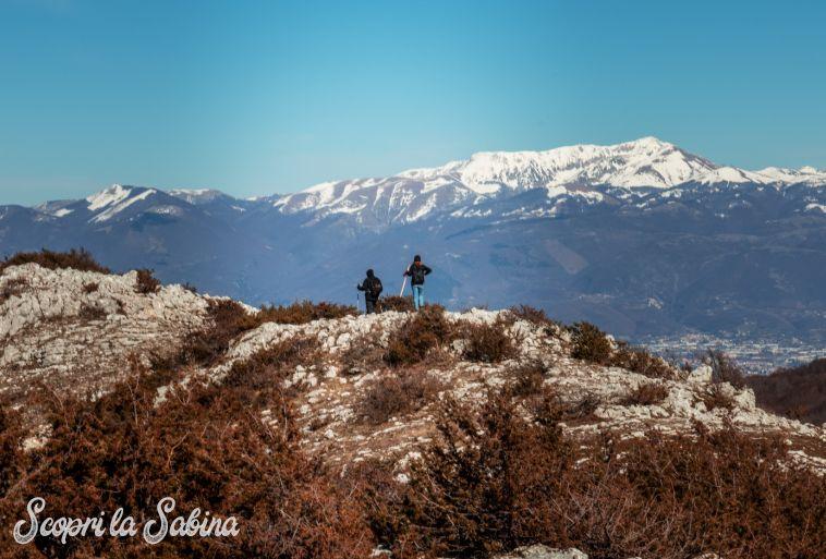 monti sabini creste monte terminillo rieti trekking escursioni