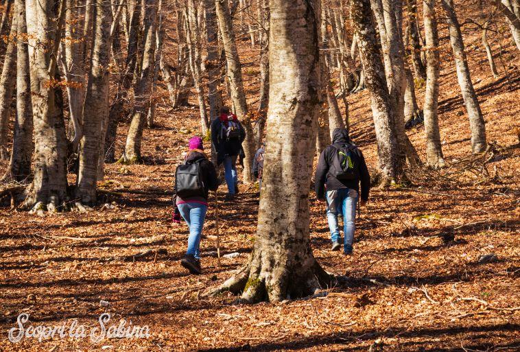 monti sabini escursioni trekking mtb ciaspole sabina rieti lazio