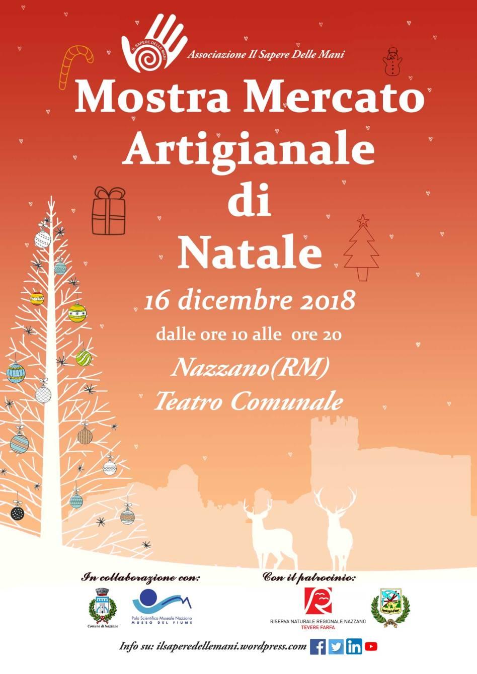 Mostra Mercato Artigianato di Natale a Nazzano – 10^ edizione - eventi in sabina