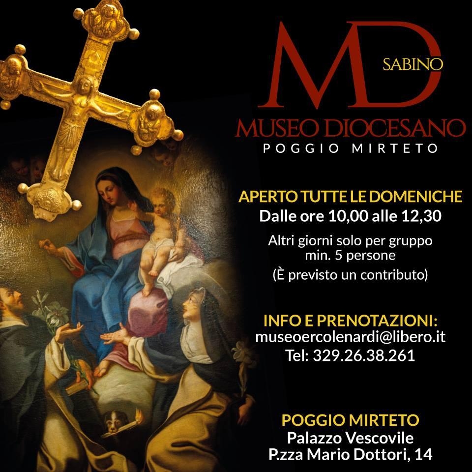 Apertura Museo Diocesano di Poggio Mirteto - eventi in sabina
