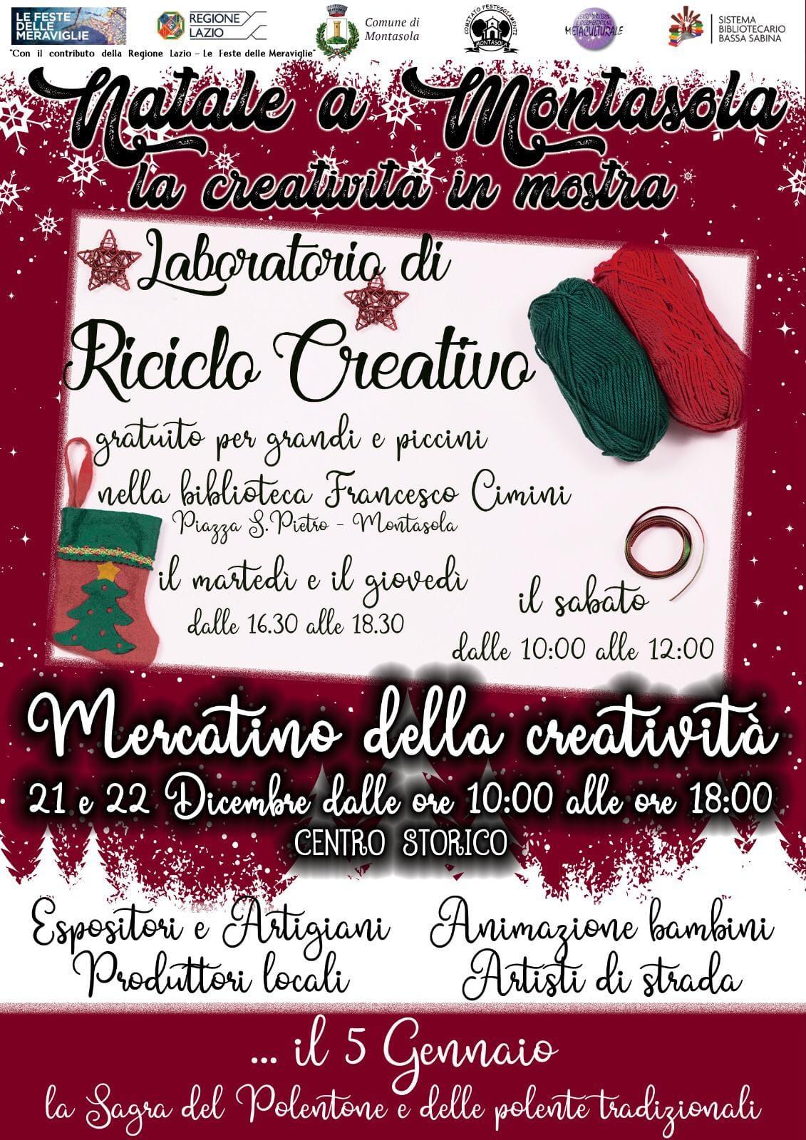 Natale a Montasola - eventi in sabina
