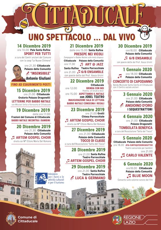 Natale a Cittaducale - eventi in sabina