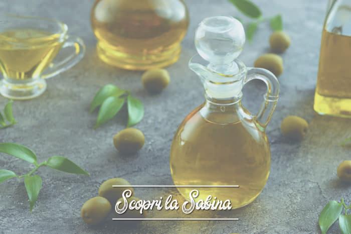 Olio extravergine di oliva della Sabina