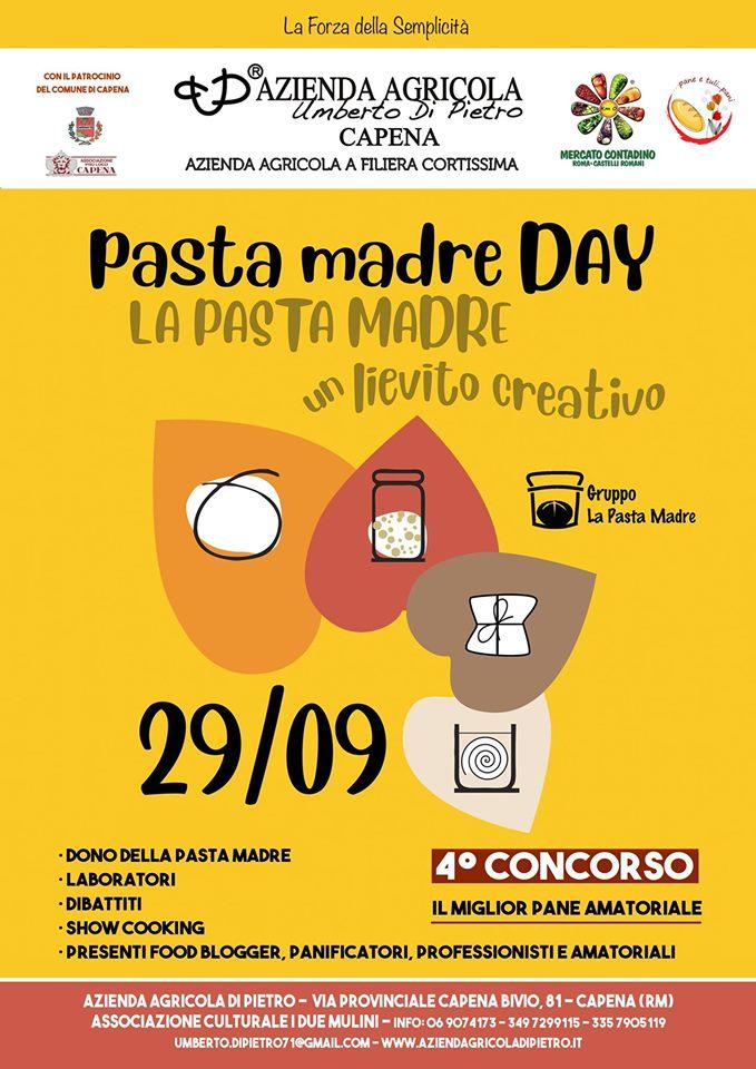 Pasta Madre Day 2019 - eventi in sabina