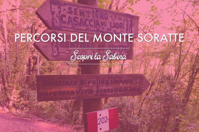 Percorsi e sentieri del Monte Soratte