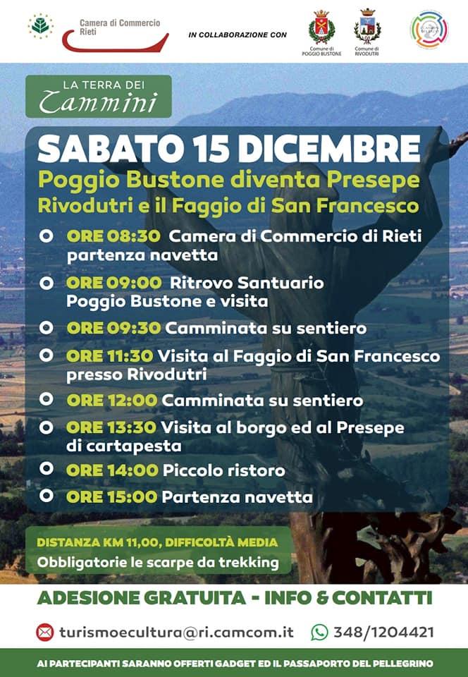 Puggio Bustone diventa Presepe – Rivodutri e il Faggio di San Francesco - eventi in sabina